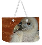 Vulture Portrait Weekender Tote Bag