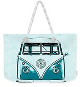 Vw Van Graphic Artwork Weekender Tote Bag