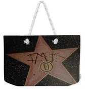 W C Fields Star Weekender Tote Bag