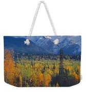 102238-v-w End Of Seven Sisters Mountain  Weekender Tote Bag