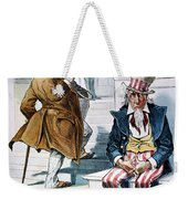 W. Mckinley Cartoon, 1896 Weekender Tote Bag