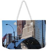 W T C Path Station Weekender Tote Bag