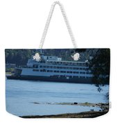 Wa State Ferry In Manchester Weekender Tote Bag