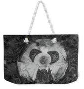 Wabi-sabi Nutz Monochrome Weekender Tote Bag