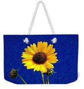 Wabi-sabi Sunflower Weekender Tote Bag