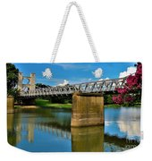 Waco Suspension Bridge 2 Weekender Tote Bag