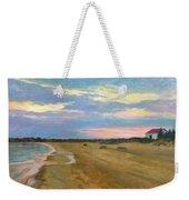 Wades Beach Sundown Study II Weekender Tote Bag