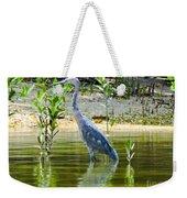 Wading Blue Heron Weekender Tote Bag