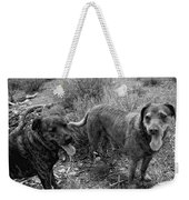 Wagging Tongues Weekender Tote Bag