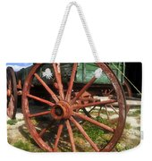 Wagon And Wheel Weekender Tote Bag