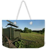 Wagon At Wagon Hill Farm In Durham New Hampshire Weekender Tote Bag