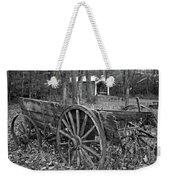 Wagon In The Woods Weekender Tote Bag