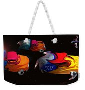 Wagon Train To The Stars 2 Weekender Tote Bag