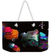 Wagon Train To The Stars 3 Weekender Tote Bag