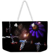 Wagon Train To The Stars Weekender Tote Bag
