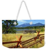 Wagon West Weekender Tote Bag by Marty Koch