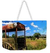 Wagon Wheel Weekender Tote Bag