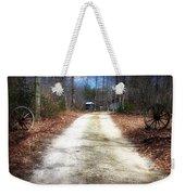 Wagon Wheel Lane Weekender Tote Bag