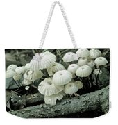 Wagon Wheel Mushroom Colony Weekender Tote Bag
