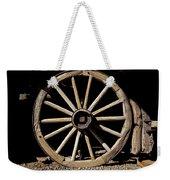 Wagon Wheel Texture Weekender Tote Bag