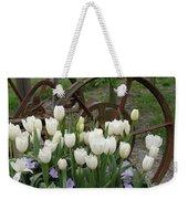 Wagon Wheel Tulips Weekender Tote Bag