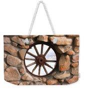Wagon Wheel Window Weekender Tote Bag