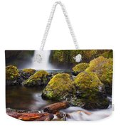 Wahclella Weekender Tote Bag by Mike  Dawson