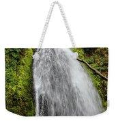 Wahkeena Falls At Footbridge, Oregon Weekender Tote Bag