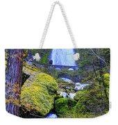 Wahkeena Falls Weekender Tote Bag