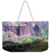 Waiamea Canyon Walls Weekender Tote Bag