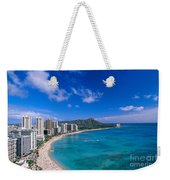 Waikiki And Diamond Head Weekender Tote Bag