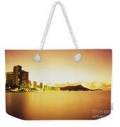 Waikiki At Sunset Weekender Tote Bag
