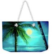 Waikiki Beach Moon #22 Weekender Tote Bag