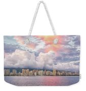 Waikiki Beach Sunset Weekender Tote Bag