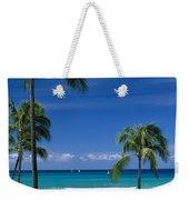 Waikiki Seascape Weekender Tote Bag