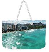 Waikiki To Diamond Head Weekender Tote Bag