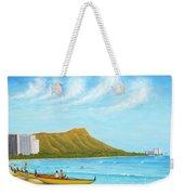 Waikiki Wonder Weekender Tote Bag
