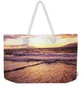 Wailea Beach At Sunset Weekender Tote Bag
