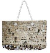 Wailing Wall In Jerusalem Weekender Tote Bag