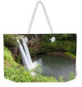 Wailua Falls, Kauai Weekender Tote Bag