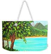 Waimanalo Beach Oahu #385 Weekender Tote Bag