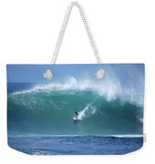 Waimea Bay Boomer Weekender Tote Bag by Kevin Smith