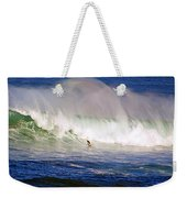Waimea Bay Wave Weekender Tote Bag
