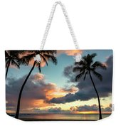 Waimea Beach Sunset 3 - Oahu Hawaii Weekender Tote Bag