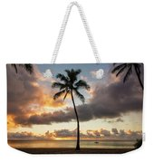 Waimea Beach Sunset - Oahu Hawaii Weekender Tote Bag