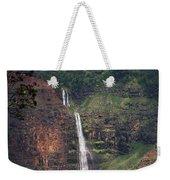 Waimea Canyon Waterfall Weekender Tote Bag
