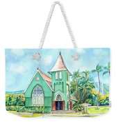 Wai'oli Hui'ia Church Weekender Tote Bag