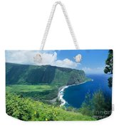 Waipio Valley Lookou Weekender Tote Bag