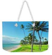 Waipuilani Beach Kihei Maui Hawaii Weekender Tote Bag