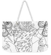 Waiting 9 Months To Say Hello Weekender Tote Bag